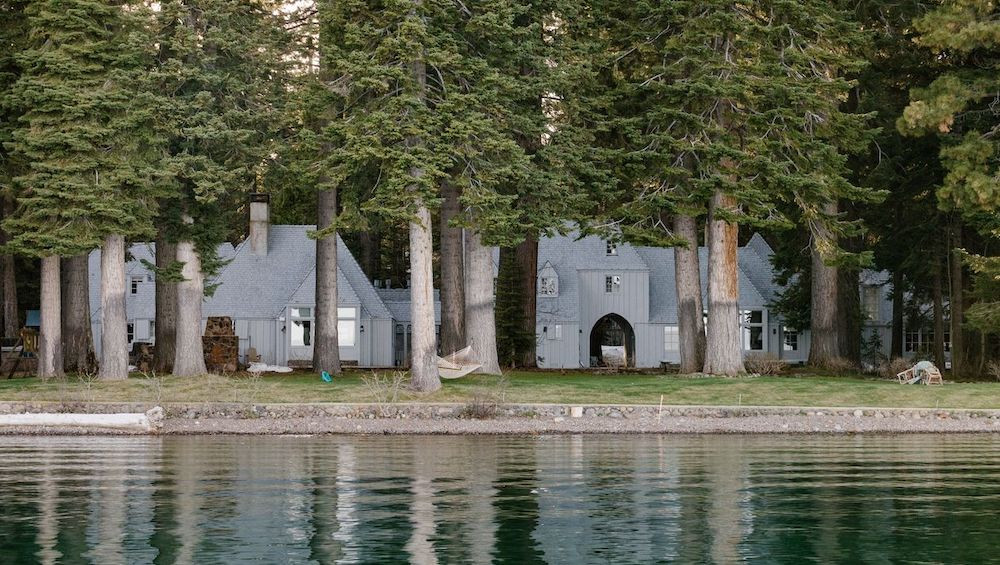 Mark Zuckerberg's Lake Tahoe home in Tahoe City, CA