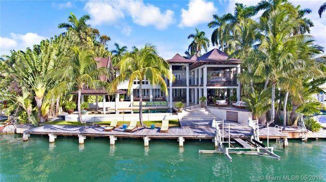 Miami Beach mansion Balinese