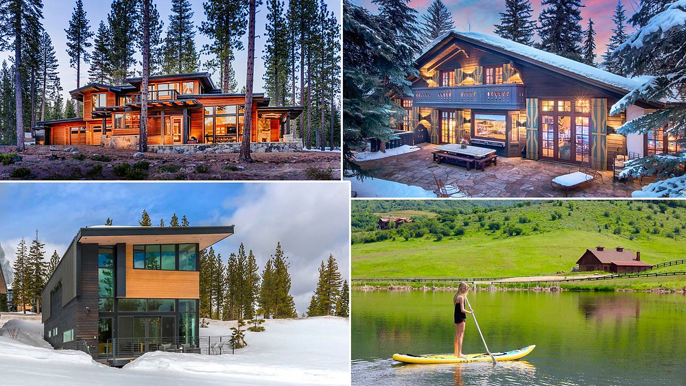 7 Luxury Summer Homes in 'Winter Destinations'