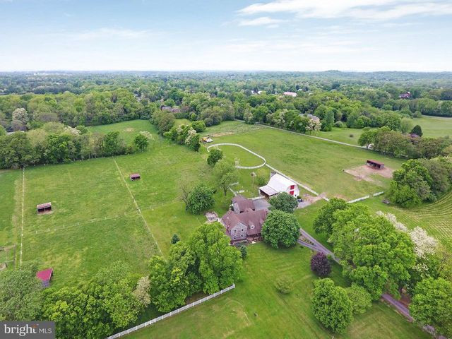 View of farm in Harper's Ferry WV
