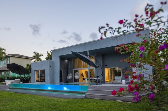 Marcos Bordoni owns this house that sits aside a canal in the Golden Isles neighborhood of Hallandale Beach.