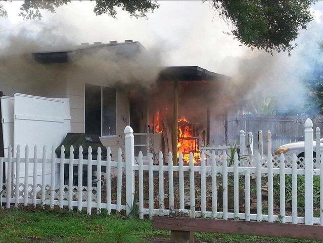 St. Petersburg house fire