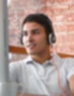 Man with Headphones