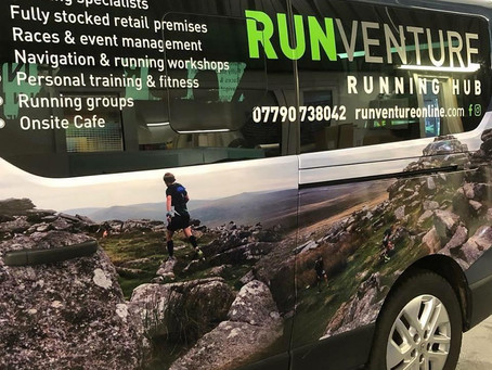 Check out the new signage on the Run Venture van