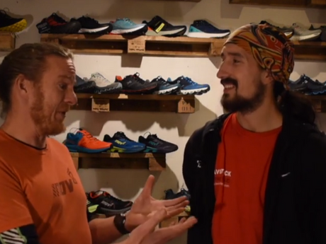 Colin chats to Adam 'Tango' Holland about fast running shoes