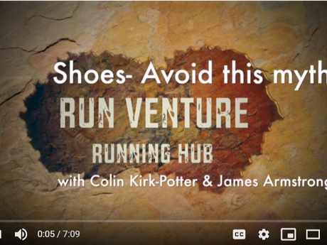 Colin chats to running coach James Armstrong about 'corrective' running shoes