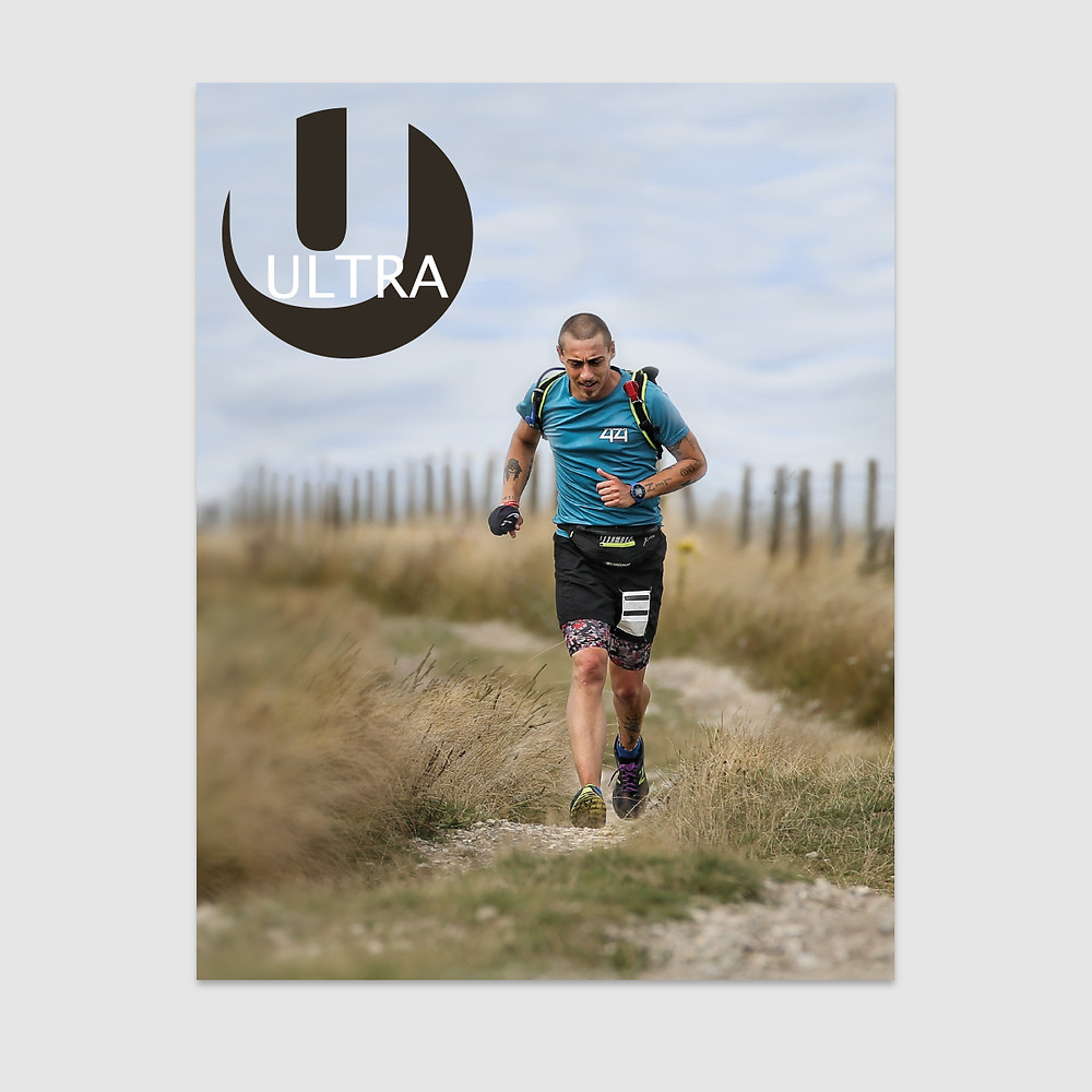 David on the front cover of Issue 7 of ULTRA Magazine