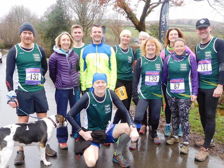 Run Venture's Tamar Trail Runners take on the Puretrail Hameldown Hammer