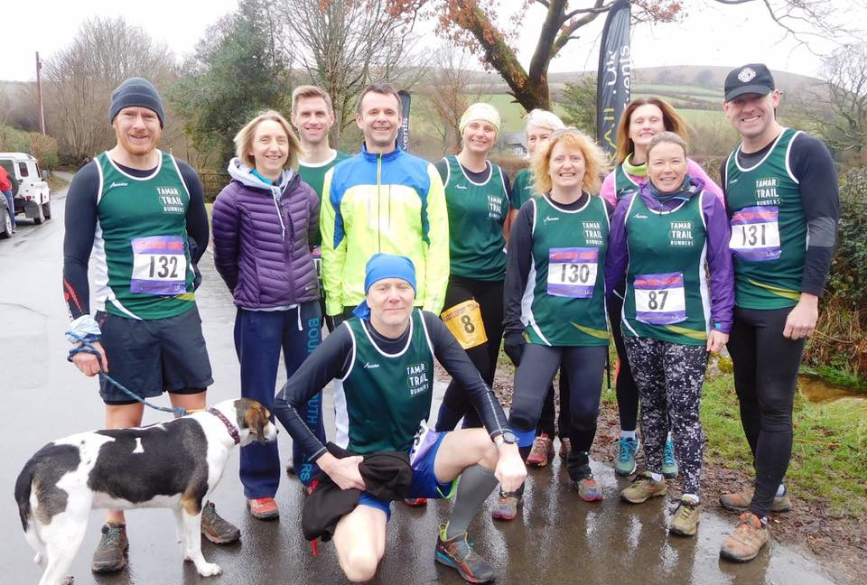 Tamar Trail Runners at Hameldown Hammer
