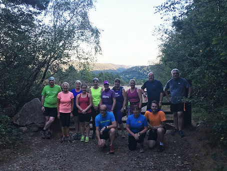 Trails Running Club off to a great start, Dartmoor Links