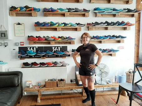 """""""If you're looking for the perfect shop that has road/ trail shoes, accessories, knowledge"""" - Louisa"""