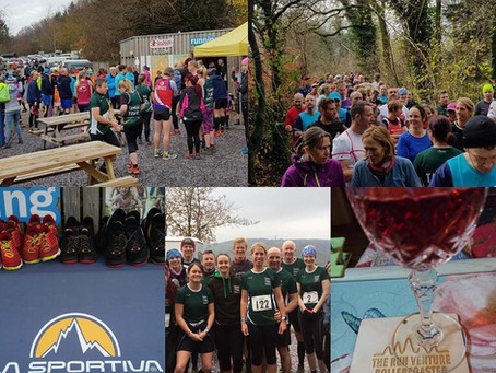The Run Venture Rollercoaster 2018: Col's Report & Results