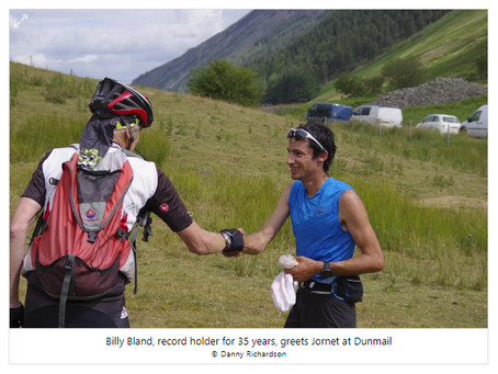 Kilian Jornet breaks record on Bob Graham Round