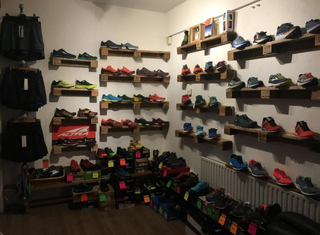The new Run Venture running shop opens on Monday 4 February