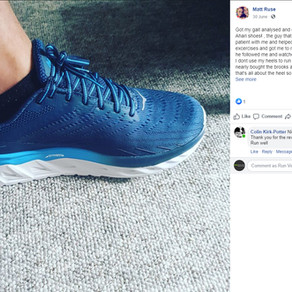 """""""If anyone's thinking of getting their running gait analysed, I couldn't recommend these guys more!"""""""