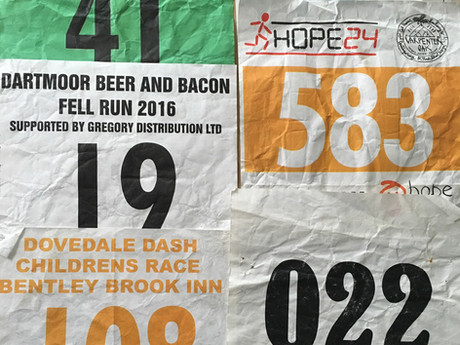 We want your old race numbers!