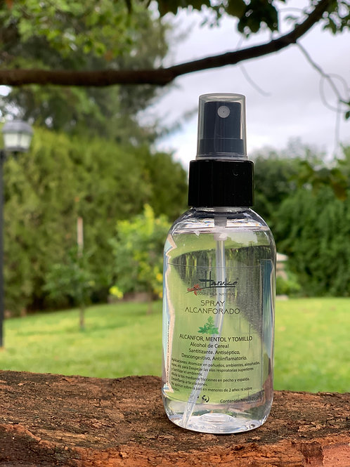 Spray Alcanforado 125 cc