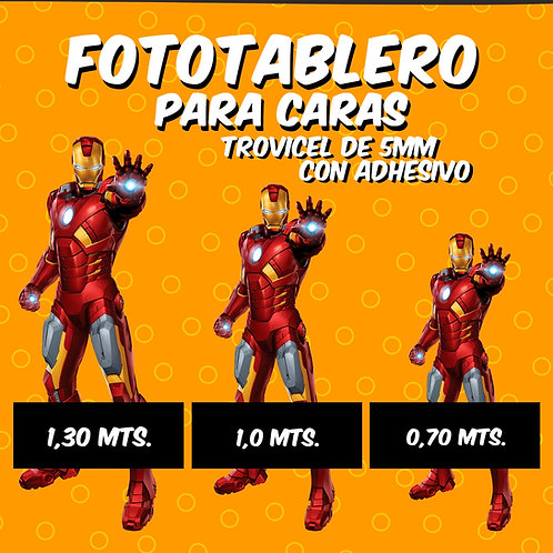 Fototablero Caritas - 1,30 mts.