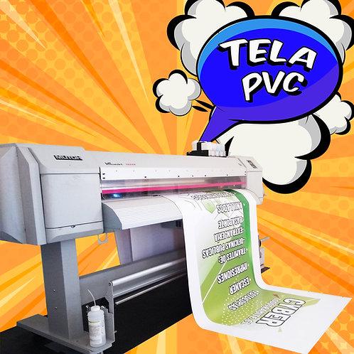 Tela PVC impresa / 2,0x1,0 mts.