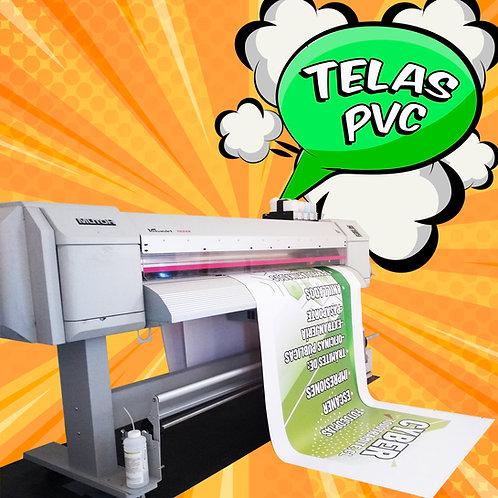 Tela PVC impresa / 3,0x1,50 mts.