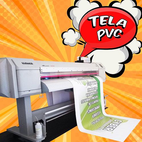 Tela PVC impresa / 3,0x1,0 mts.