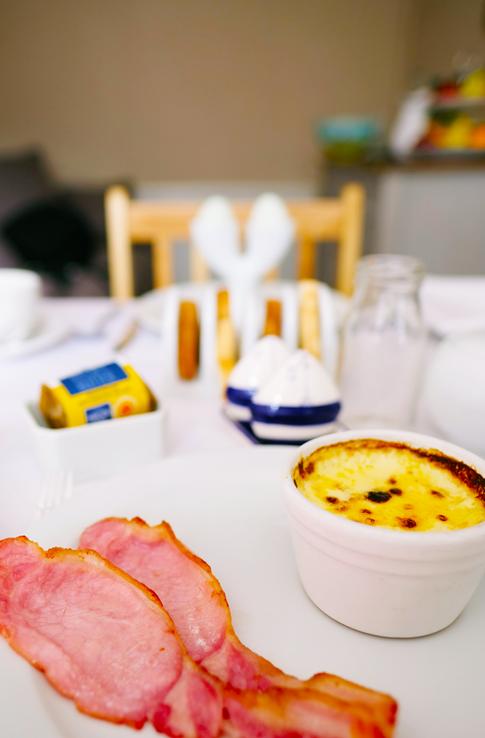 breakfast portrait