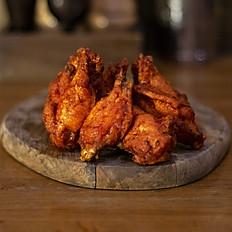 Куриные крылышки с соусом BBQ