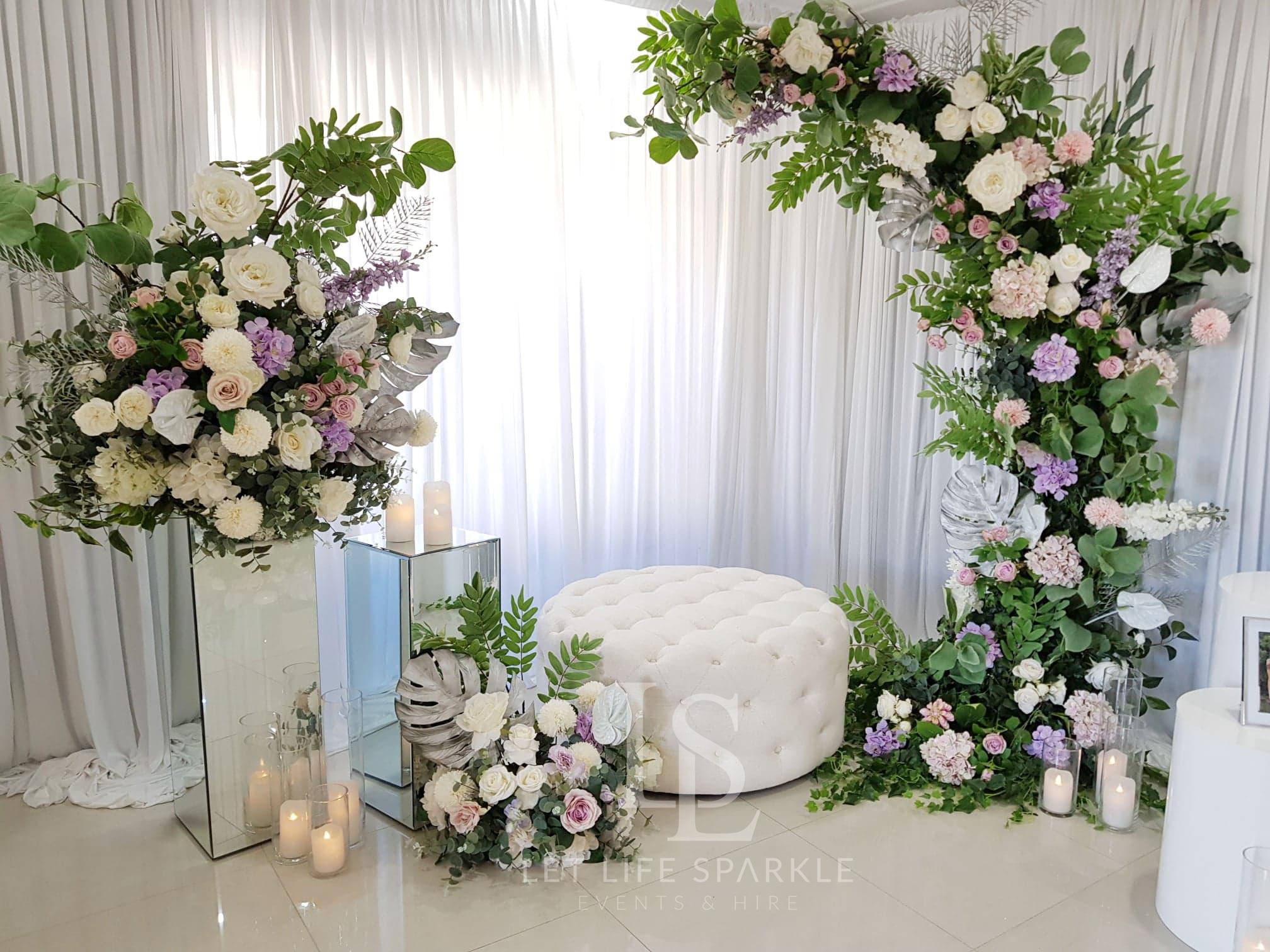 Jessica Bridal Room Decor