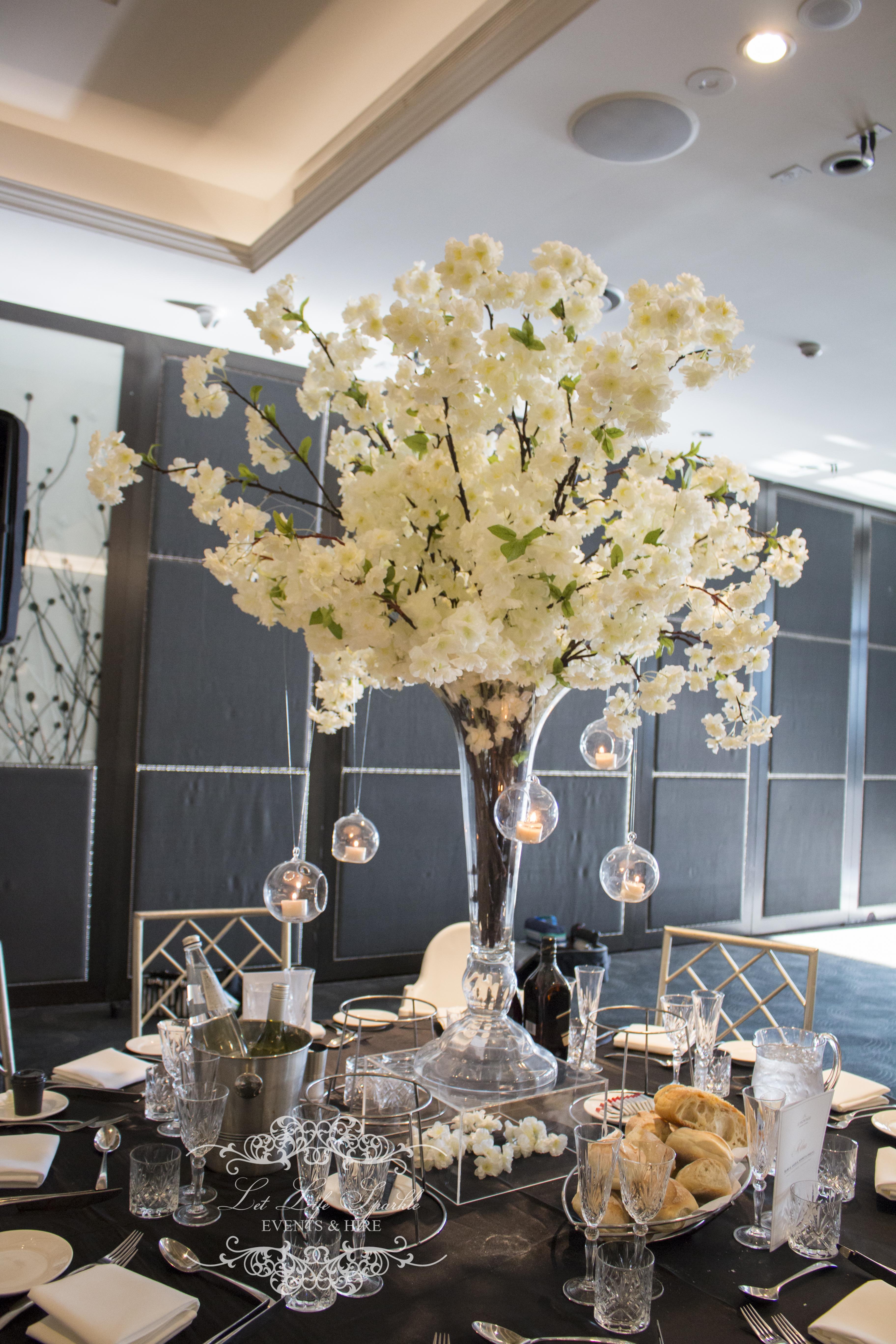Blossom Acrylic Centrepiece