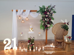 Omi Floral Draping Arbour copy