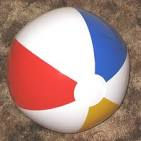 beach ball at caravans for hire at Butlins in Skegness