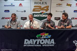 IMSA / Porsche 911 GT3 Cup Press Conference: Hurley Haywood Scholorship Winner