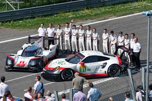 Monza WEC Test - LMP1 and GT Teams