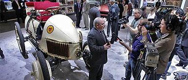 2011 NYIAS Lohner-Porsche Worlds First Hybrid Vehicle Media Event - New York Auto Show