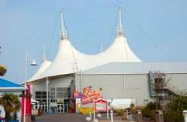 Skyline pavilion at caravans for hire at Butlins in Skegness