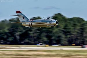 """Mikoyan Gurevich MiG-17 """"Fresco"""" at the Thunder Over South GA Air Show"""