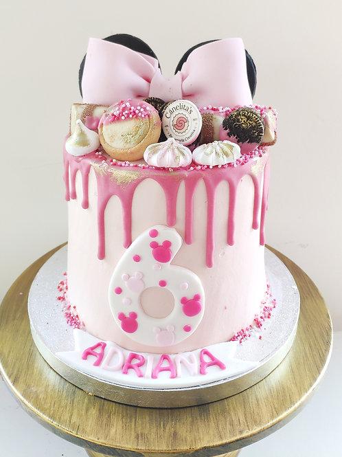 Drip cake Minnie