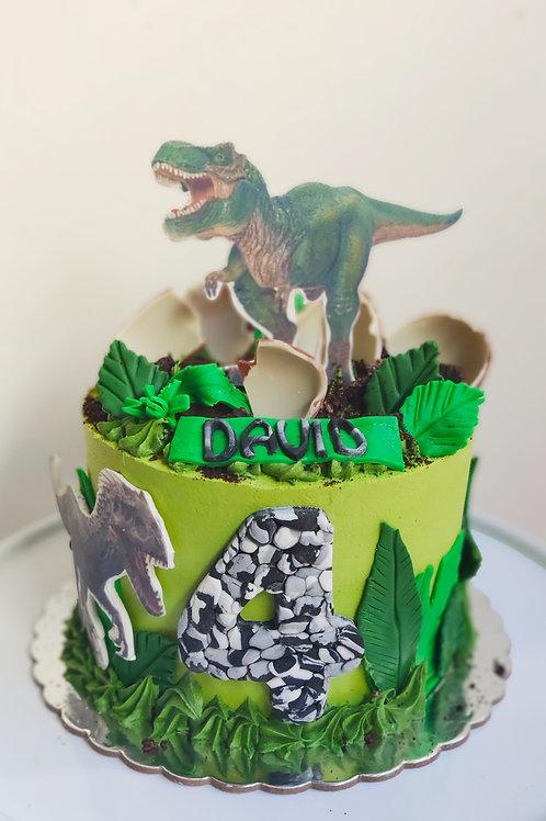 Tarta Dinosaurios