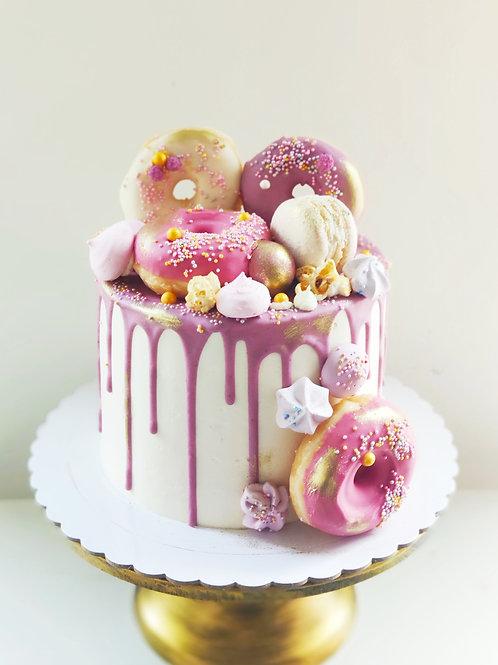 Drip Cake Blanco-Color