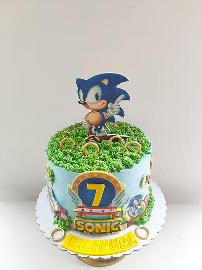 Tarta Sonic
