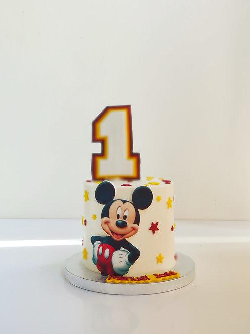 Tarta Minnie ó Mickey Estrellas