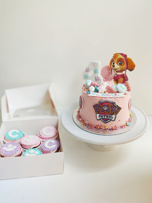 Pack Cumpleaños Personajes infantiles