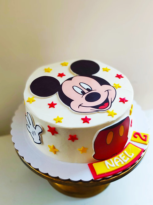 Tarta Mickey Clásico