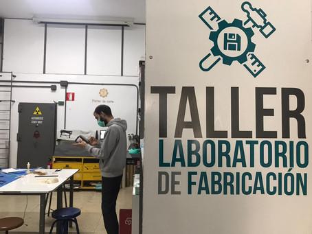 FabLab Cuenca y la resistencia maker frente al reto global del coronavirus
