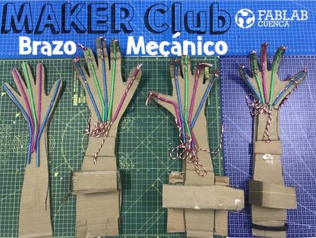 Maker Club-Prototipado rápido de un brazo mecánico