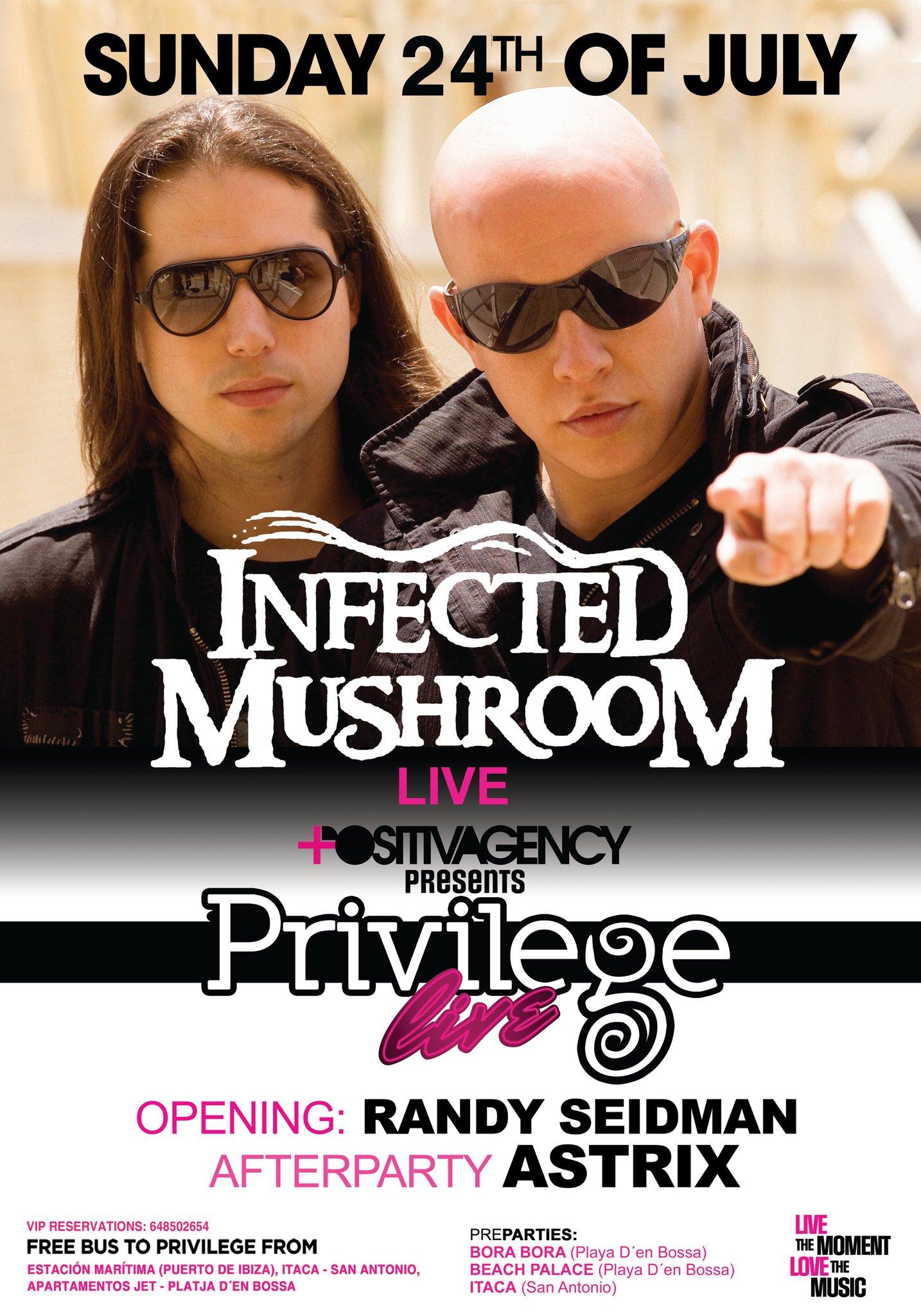 Privilege Live! Infected Mushroom