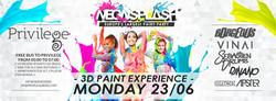 Neon Splash Flyer June 26