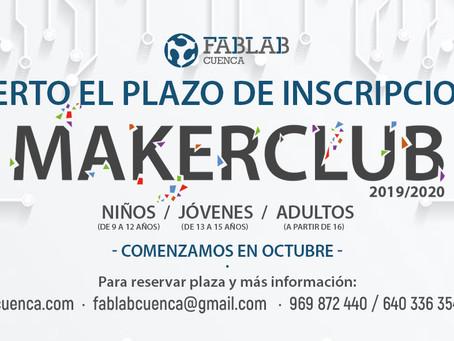 MAKER CLUB curso 2019/2020