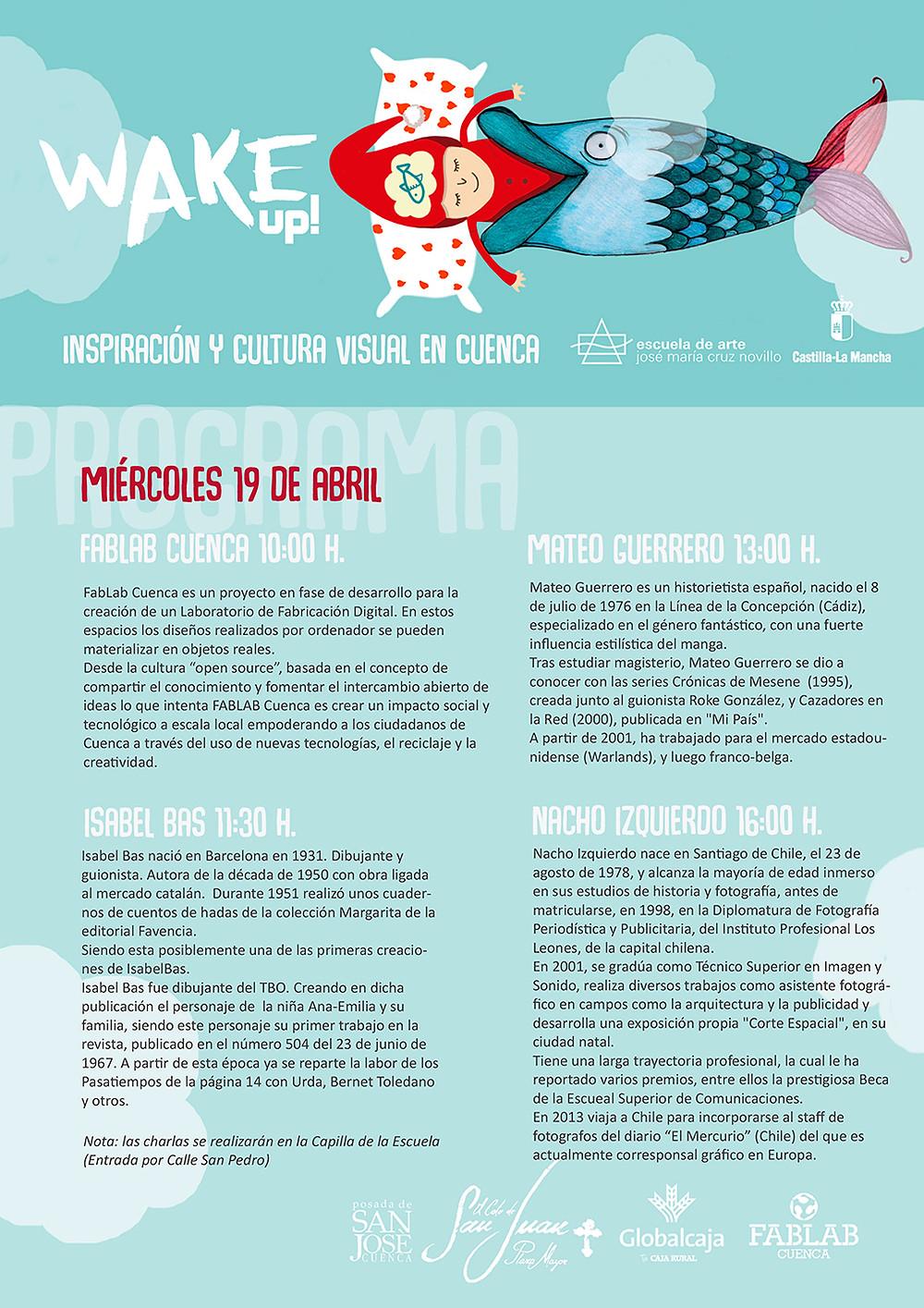 FabLab Cuenca participa en las Jornadas de Inspiración y Cultura Visual.