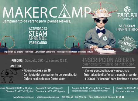 MAKER CAMP 2019 ·FABLAB CUENCA·